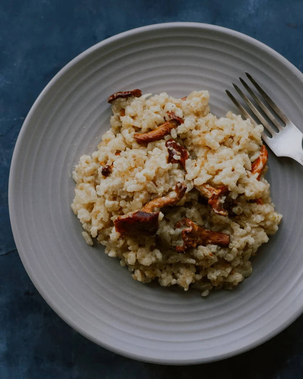 Combina jamón y zapallo en un risotto