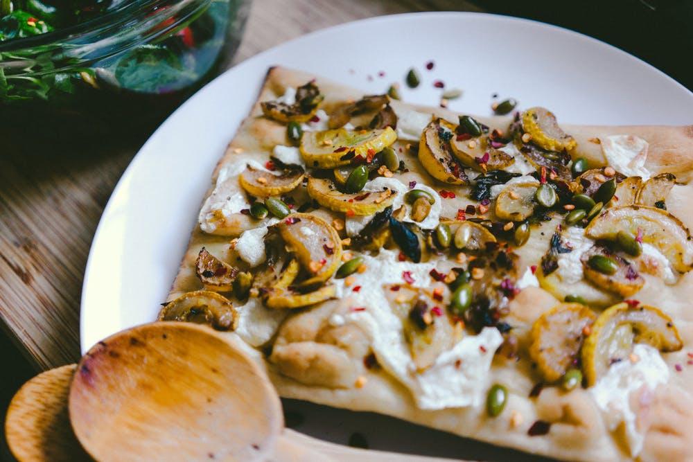 Masa de Pizza a base de quinoa