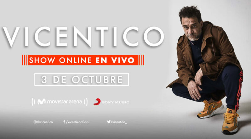 Vicentico show live streaming