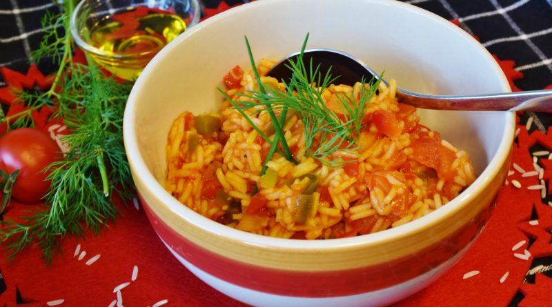 arroz estilo mexicano
