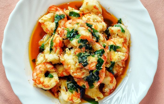 Chili de camarones